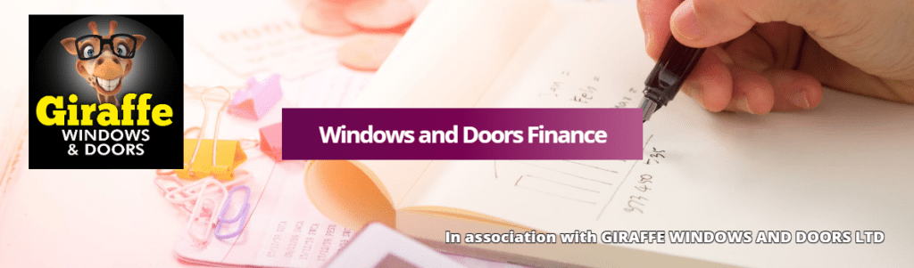 Windows and Doors Finance Banner
