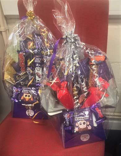 Christmas gifts of hampers for care home staff from Number 1 Healthcare